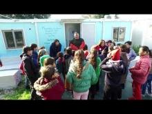 Christmas carols at Mavrovouni Kara Tepes